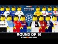 Road To Champions League Round Of 16 • UCL Draw 2019/20 In LEGO Football Film