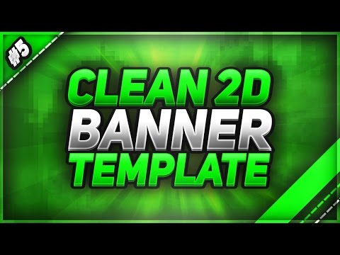 Clean 2D Gaming Banner Template | Tezna | FREE Download!