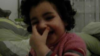 "My Princess Baby Girl Ani Laughing About "" Mtmmmm / Mein Baby Ani Lacht ""Mtmmmm"""