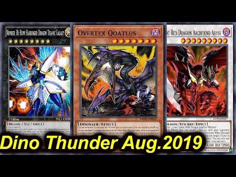 【YGOPRO】Dinosaur Thunder Dragon August 2019