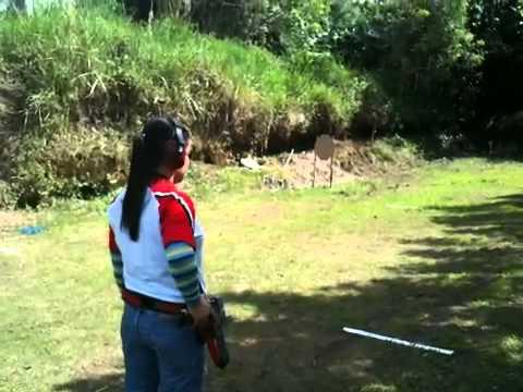 Cristy Petoral Castro Shooting Limcat Race Gun
