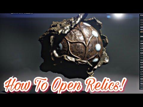 warframe relic opening