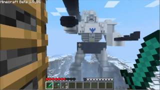 Megatron Minecraft Fort