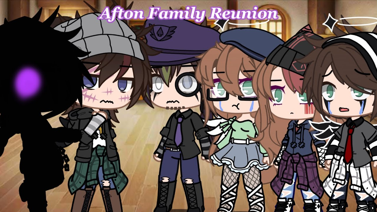 Download OLD VIDEO: Afton Family React To Michael's Memes   Reunion Episode 3/4   Old AU