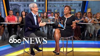 'GMA' Hot List: Apple CEO Tim Cook says using augmented reality is a 'fantastic way to shop'