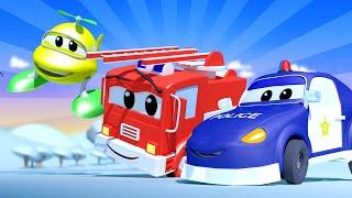 малыши в Автомобильном Городе - Младший АВТО ПАТРУЛЬ - детский мультфильм
