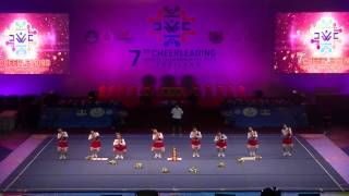 "7th World Cheerleading Championships 2013, Thailand, Day 2, Open category""BEAUTY BEARS"""