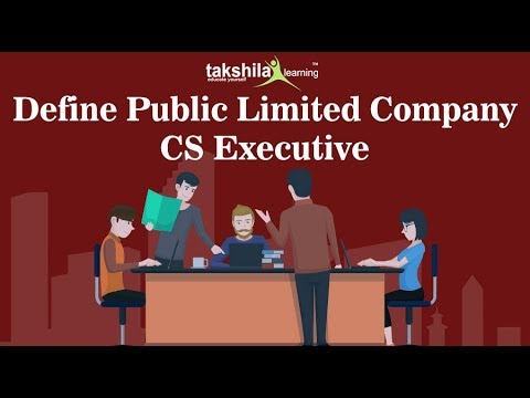 CS Executive online classes-Company Law-Define Public Limited Company