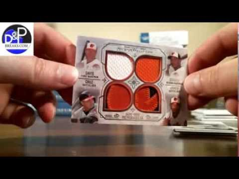 2015 Topps Museum Collection Baseball Group Case Break #1