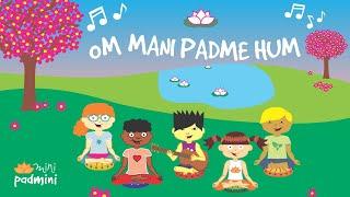 🎶 Mantra OM MANI PADME HUM | MiniPadmni (Yoga para niños y niñas)