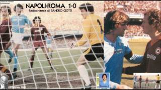 Napoli-roma 1-0  3/1/1982  Radiocronaca Di Sandro Ciotti  Tutto Il Calcio Minuto Per Minuto