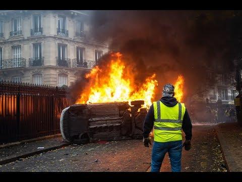 LYCEE en colère   Manifestation dans rue de Paris FRANCE   La Parole aux Français TCHATLIBRE   LIVE