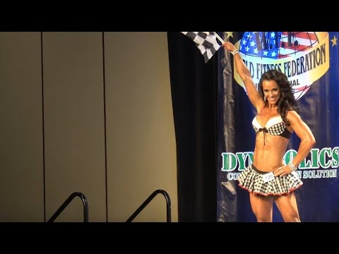 Anna Wood – Competitor No 120  1st Round  Women Sports Model Amateur  WFF Universe 2016