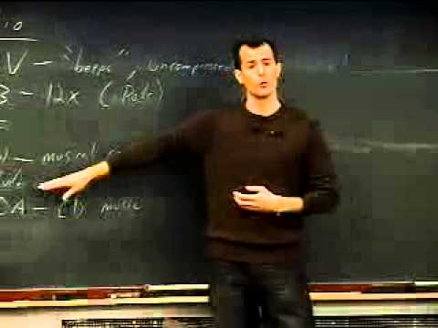 Lecture 7: Multimedia - CSCI E-1 2005 - Harvard Extension Sc