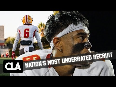 NATION'S MOST UNDERRATED HS PLAYER: 2019 ATH Akili Arnold / No. 21 Nat'l Ranked HS Mission Viejo