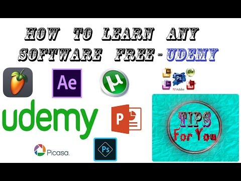 How to learn any software free - TIPS For You