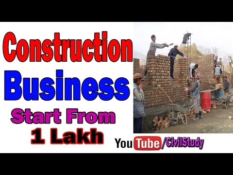 How To Start Construction Business | Construction Business Ideas In Urdu/Hindi
