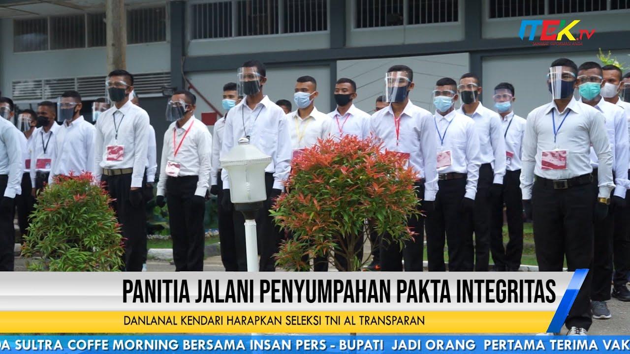Danlanal Kendari Harapkan Seleksi TNI AL Transparan