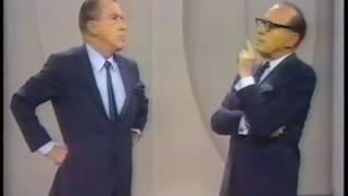 Ed Sullivan and Jack Benny - 1967