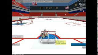 Roblox Hockey- Goalie for one Period: ep. 3