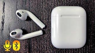 Мікрофон в AirPods для зйомки відео. Як його включити?