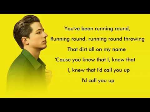 Charlie Puth - Attention Lyrics