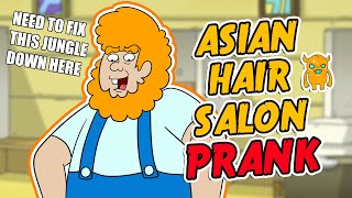 Hair/Nail Salon Prank Call - OwnagePranks