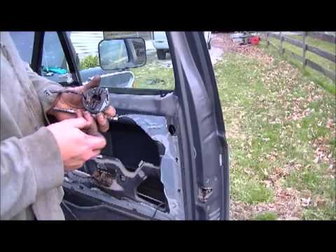 1991 Ford Power Window Repair Youtube