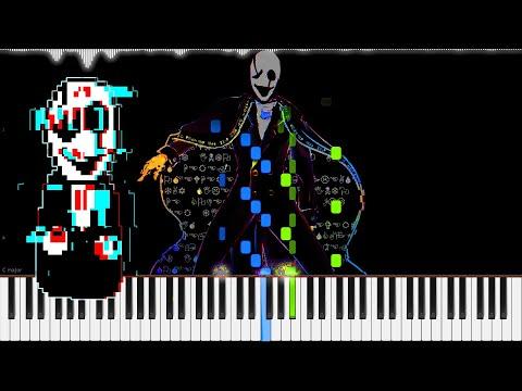 Undertale� // Dark, Darker, Yet Darker   LyricWulf Piano Tutorial on Synthesia