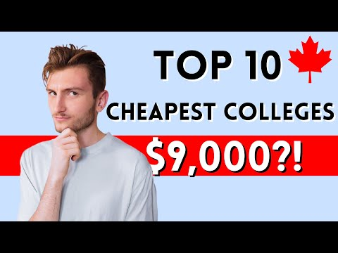 Top 10 Most Affordable Colleges in Canada. Real Quality, Costs and PR for International Students