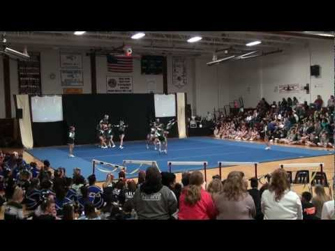 Shepherd Hill Cheer  Invitational Feb. 24, 2012 - Nipmuc Regional  High School