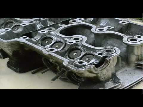 Motorbike engine mini table