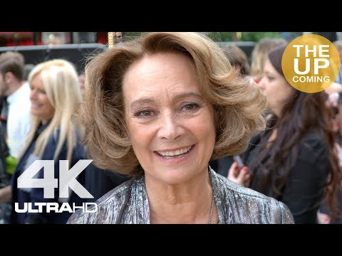 Francesca Annis interview on King of Thieves at premiere