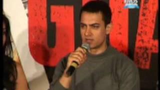 Aamir Khan talks about his success on Ghajini