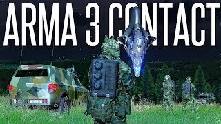 WEAPONIZED AND ANGRY ALIENS - ArmA 3 Contact DLC Ep. 2