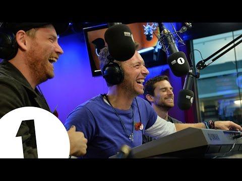 Coldplay sing three very boring songs