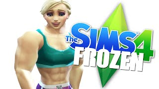DON'T WASH HANDS THERE - The Sims 4 - Frozen Family [3] - The Sims 4 Lets Play - The Sims 4 Gameplay