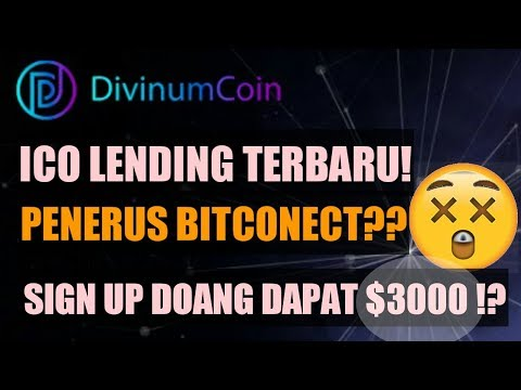 ICO LENDING TERBARU DIVINUMCOIN.IO REVIEW | FREE 10 KOIN DVC ($3000)