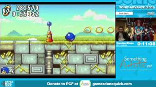 Sonic Advance by Combo Blaze in 18:42 - Awesome Games Done Quick 2016 - Part 68