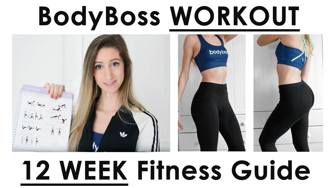 Bodyboss work out 12 week fitness guide first workout bodyboss work out 12 week fitness guide first workout revealed youtube fandeluxe Image collections