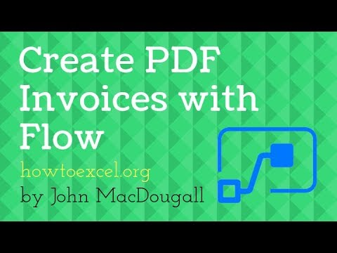 Create A Dynamic Invoice PDF Template With Microsoft Flow