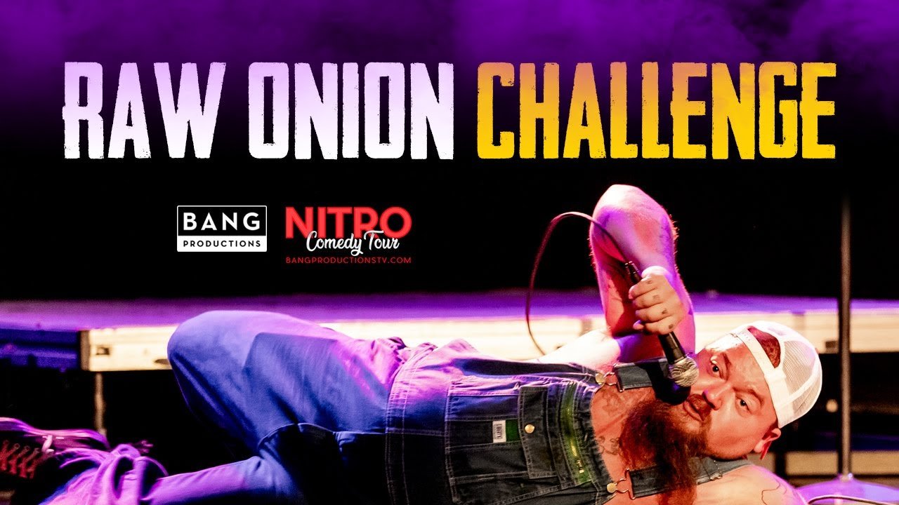 COMEDIAN CATFISH COOLEY: RAW ONION CHALLENGE - COMEDY FUNNY LAUGH