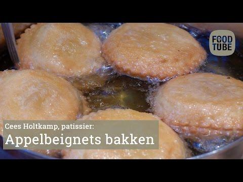Appelbeignets bakken met Cees Holtkamp