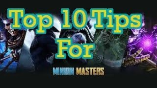 Minion Masters - 10 tips for new players that will help you win!