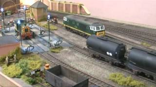Botleigh Old North Road Model Railway Engine Shed Layout