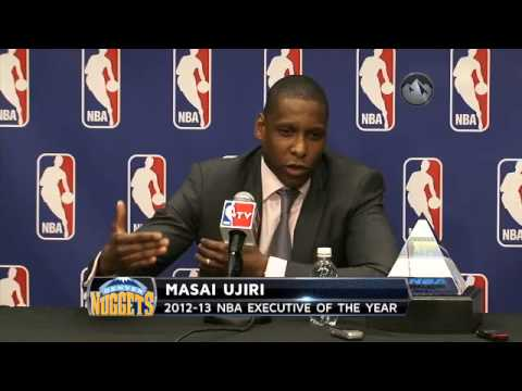 Masai Ujiri Executive of the Year Full Press Conference