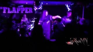 Onslaught performing 66 Fucking 6 @ Headbangers Balls, 17/01/2015