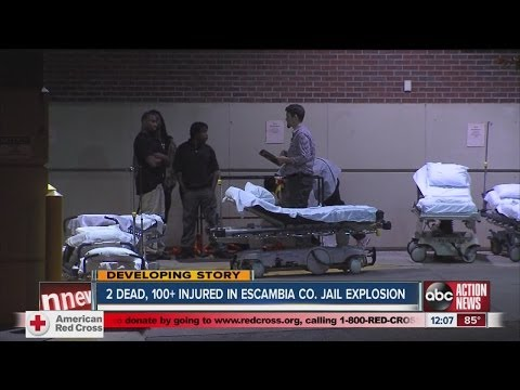 2 inmates dead, 100+ injured in explosion at Escambia County jail