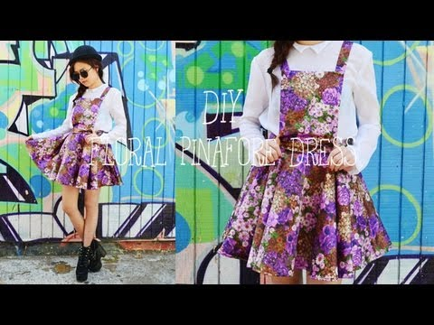 diy 50 000 sweepstakes diy pinafore dress chictopia giveaway youtube 6816