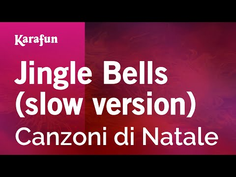 Karaoke Jingle Bells slow version  Christmas Carol *